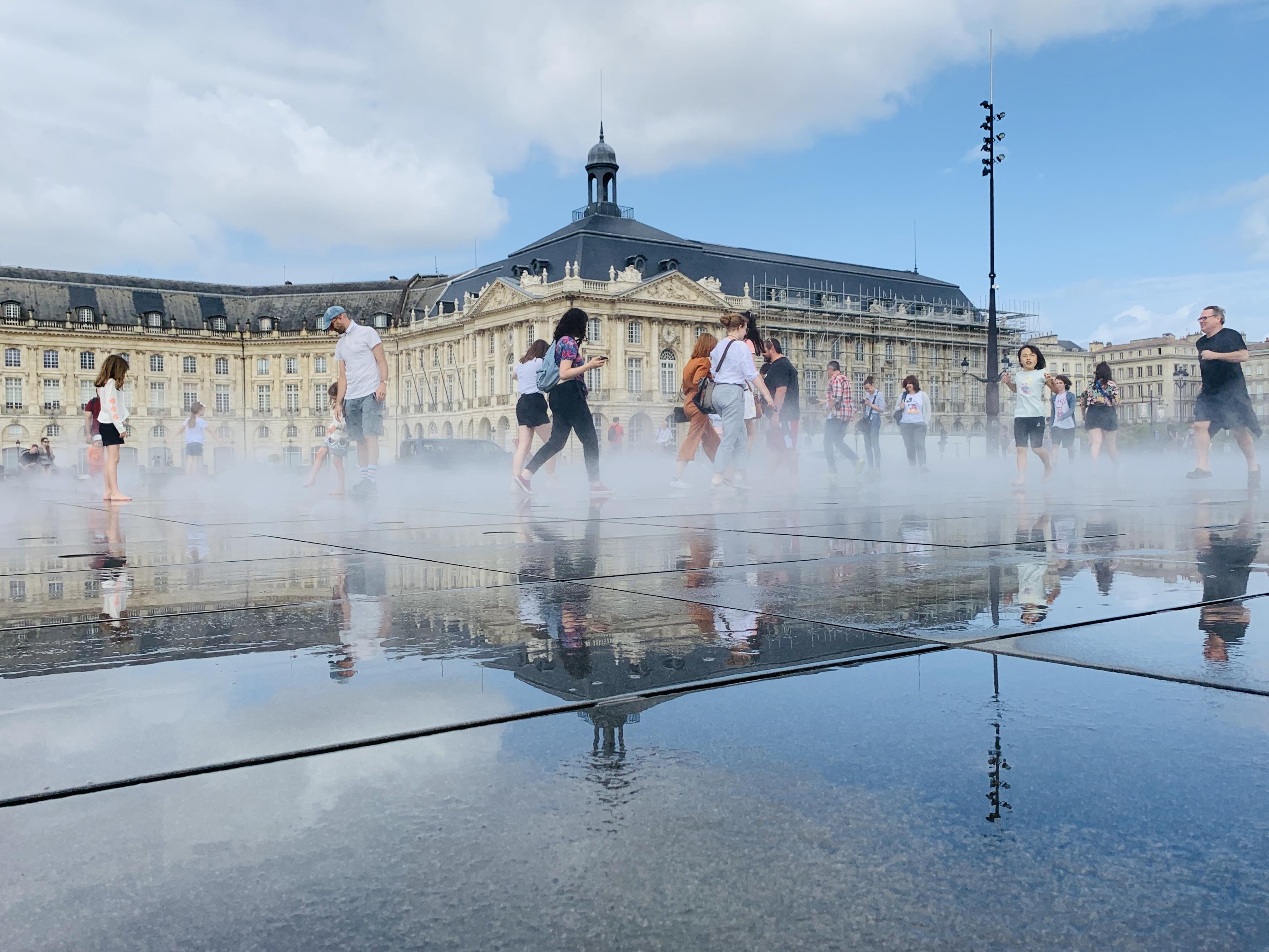 Europa Roadtrip 2019 - Bordeaux Le Miroir d'eau