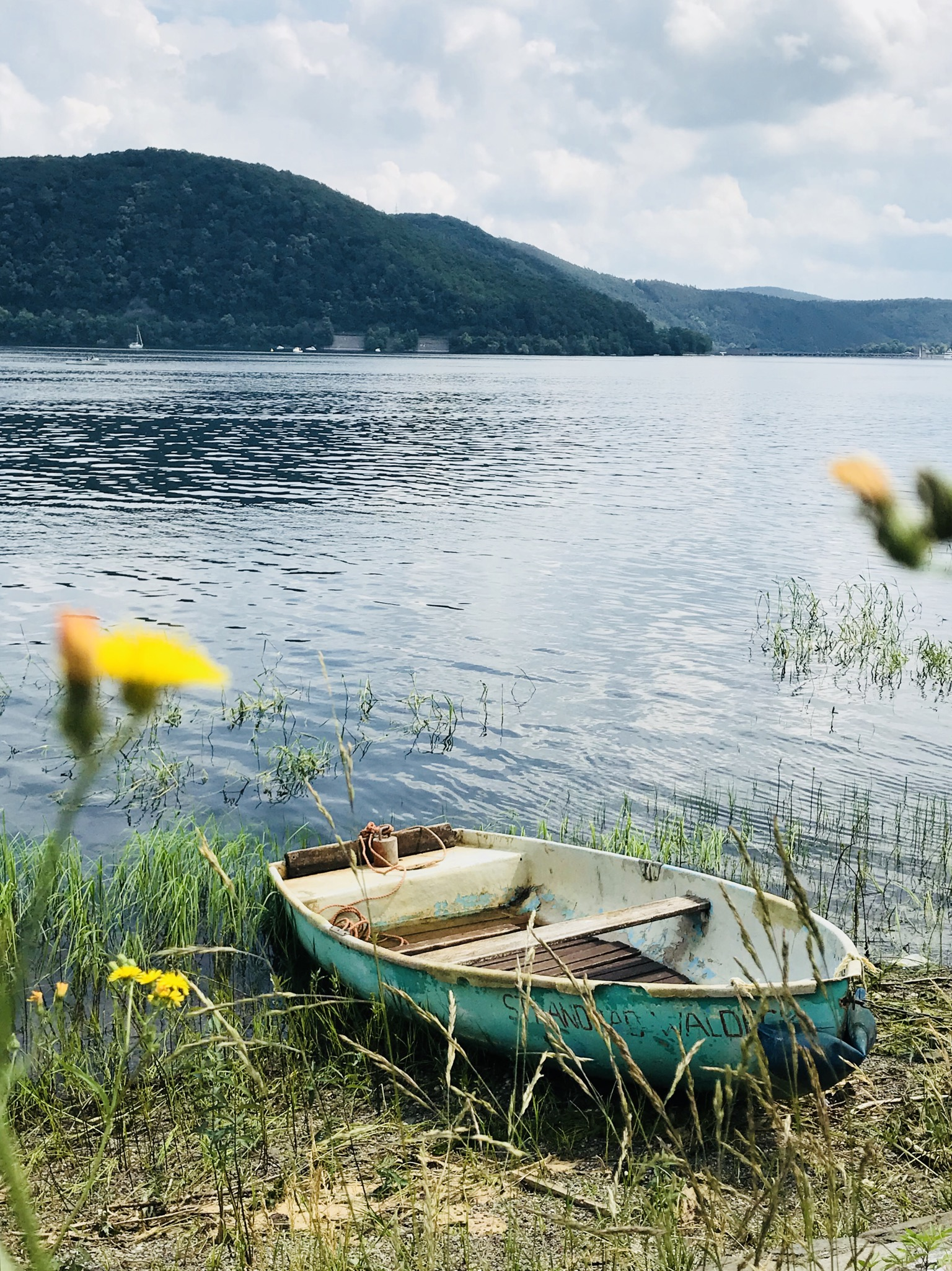 altes Boot am Edersee