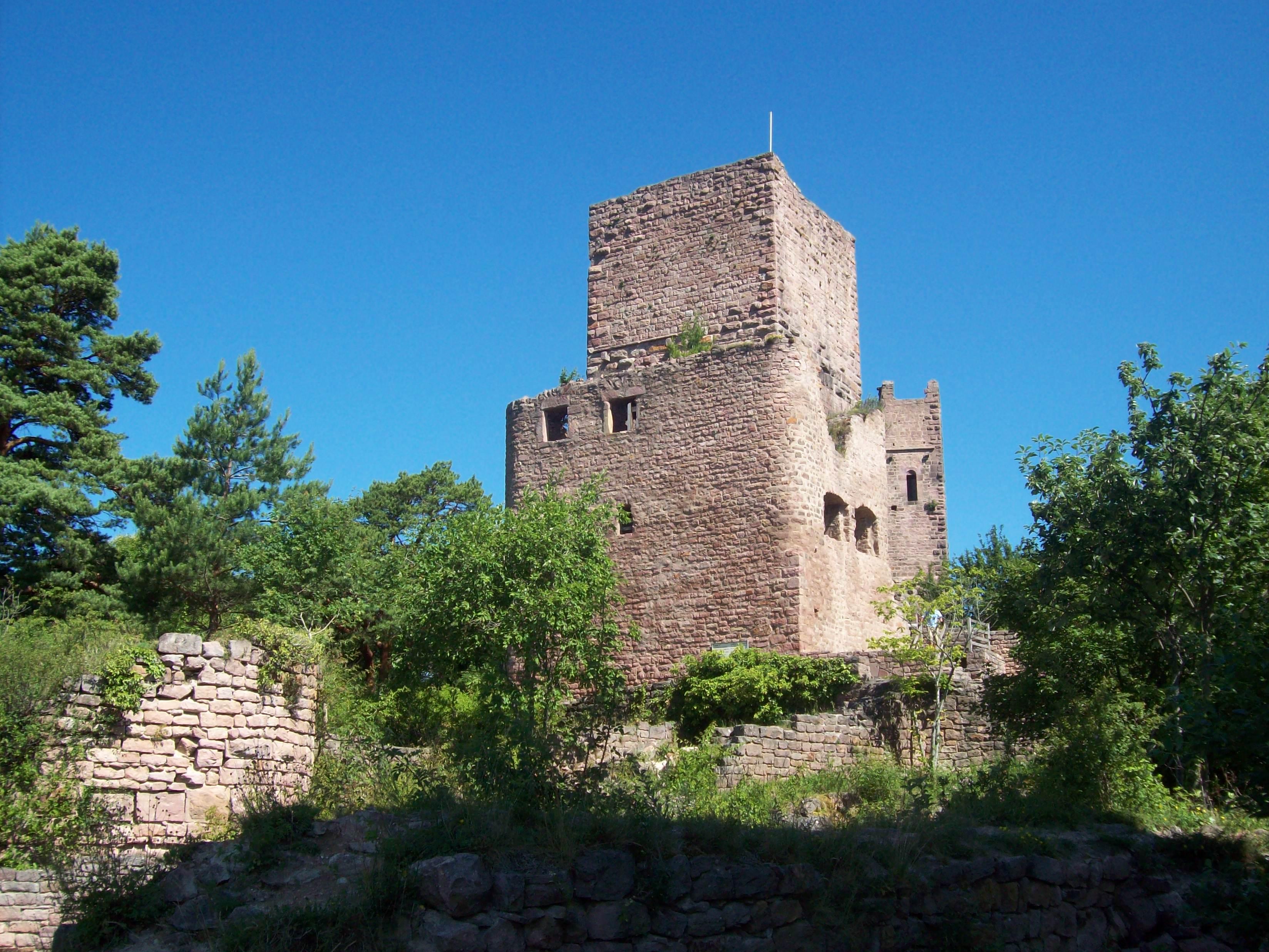 Burgruine - Les Trois Châteaux