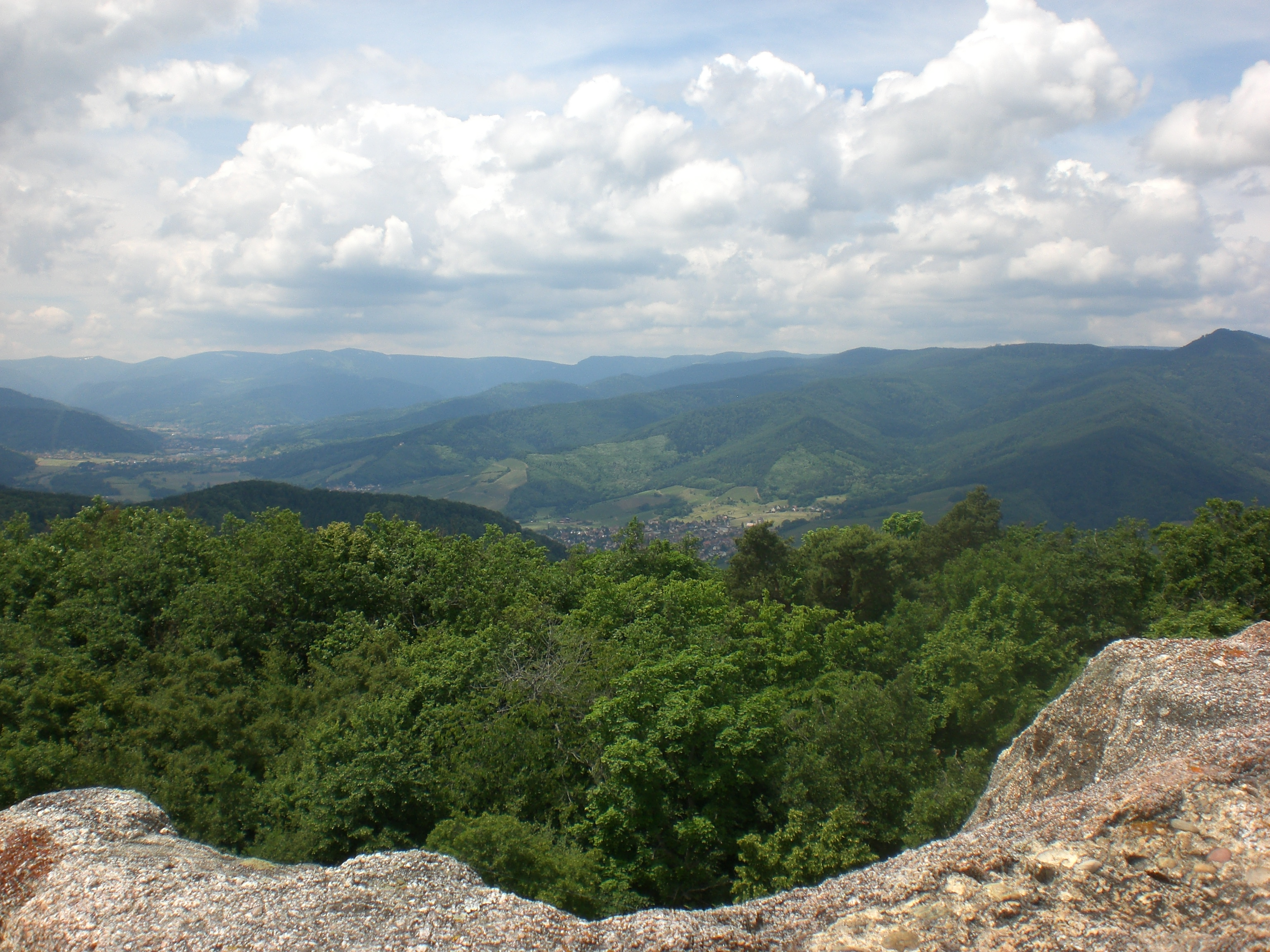 Aussicht von der Hohlandsburg