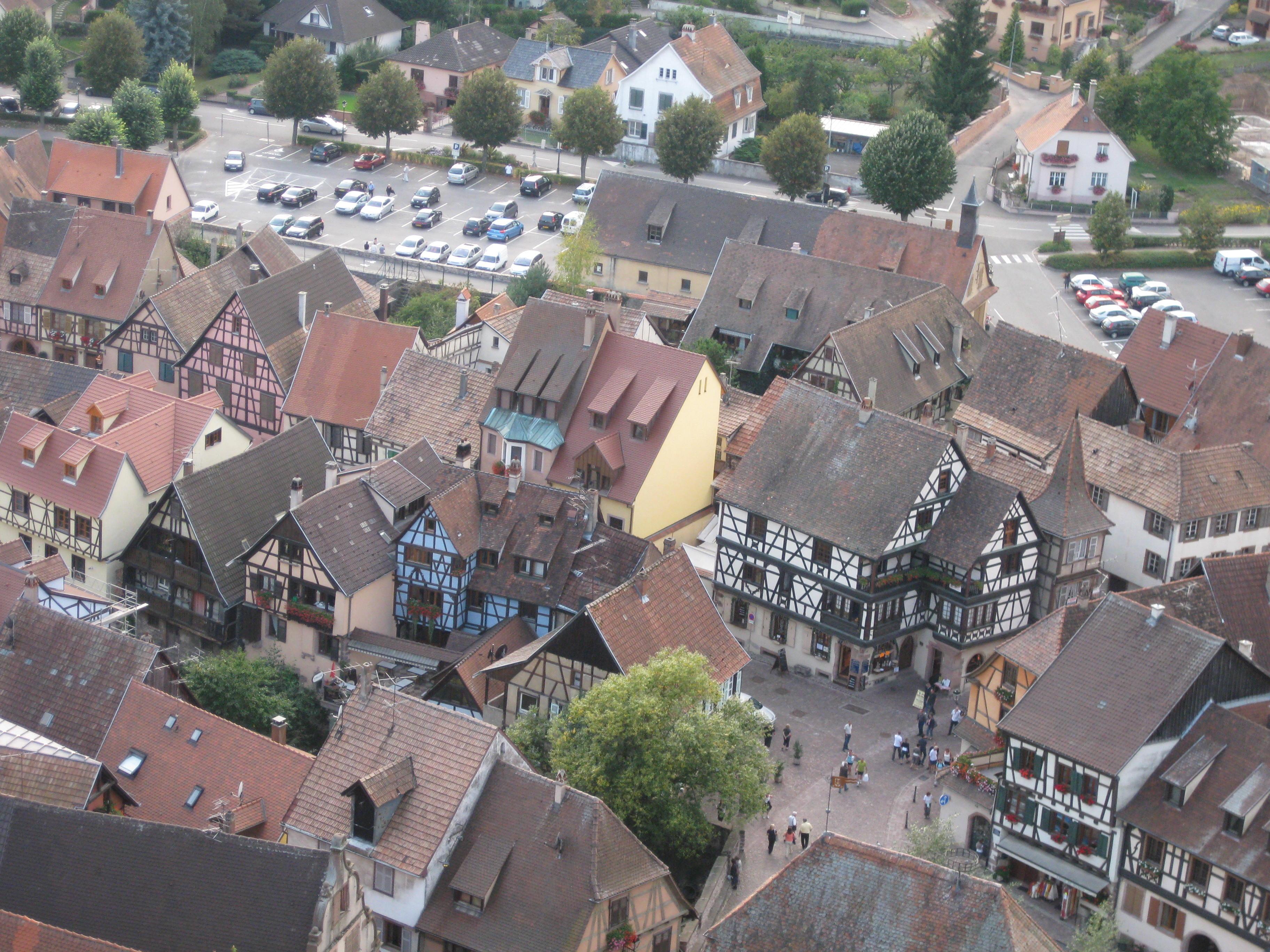Kaysersberg von oben