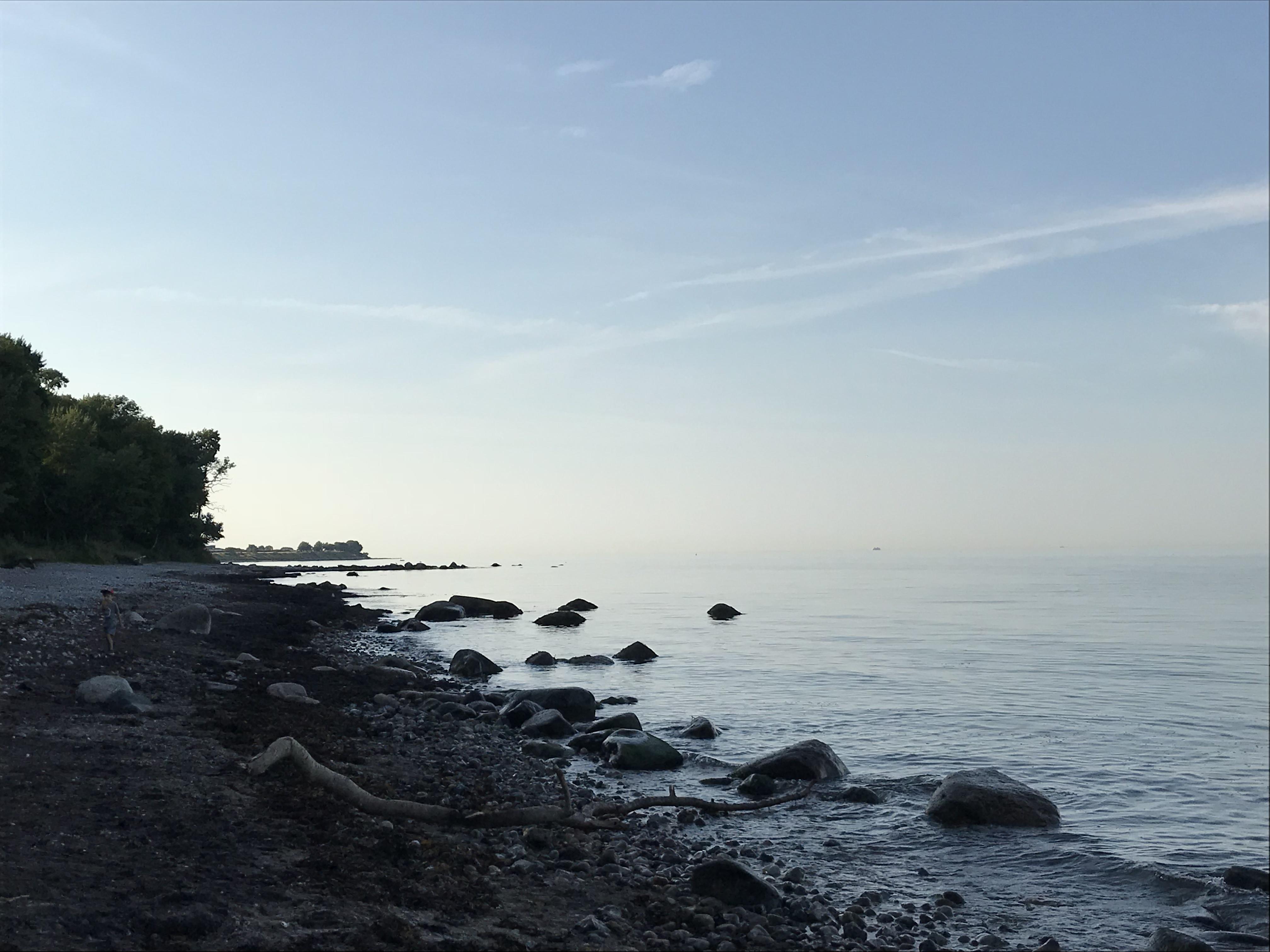 Fehmarn, Strand Abendstimmung