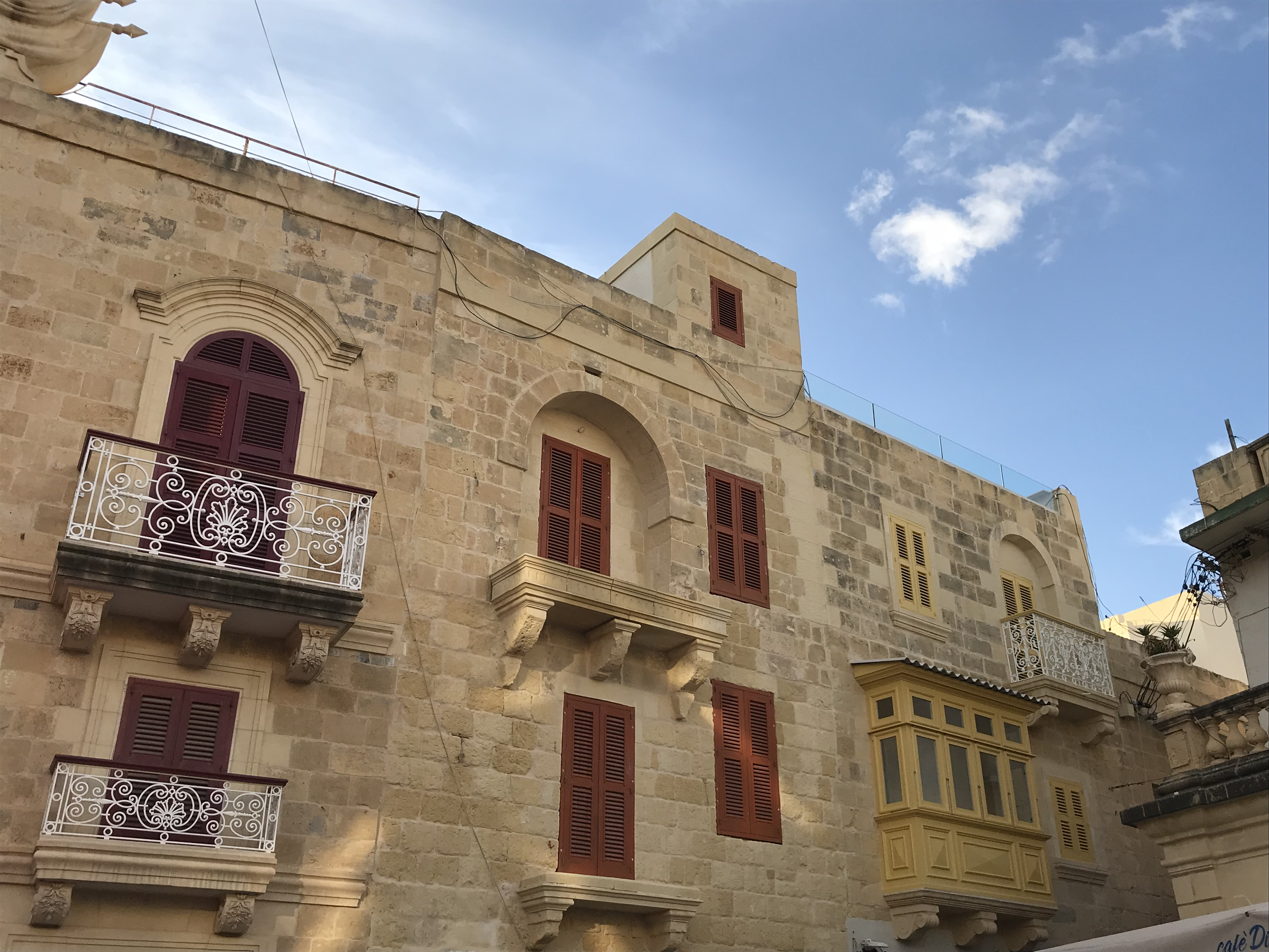 die Häuser von Victoria, Gozo