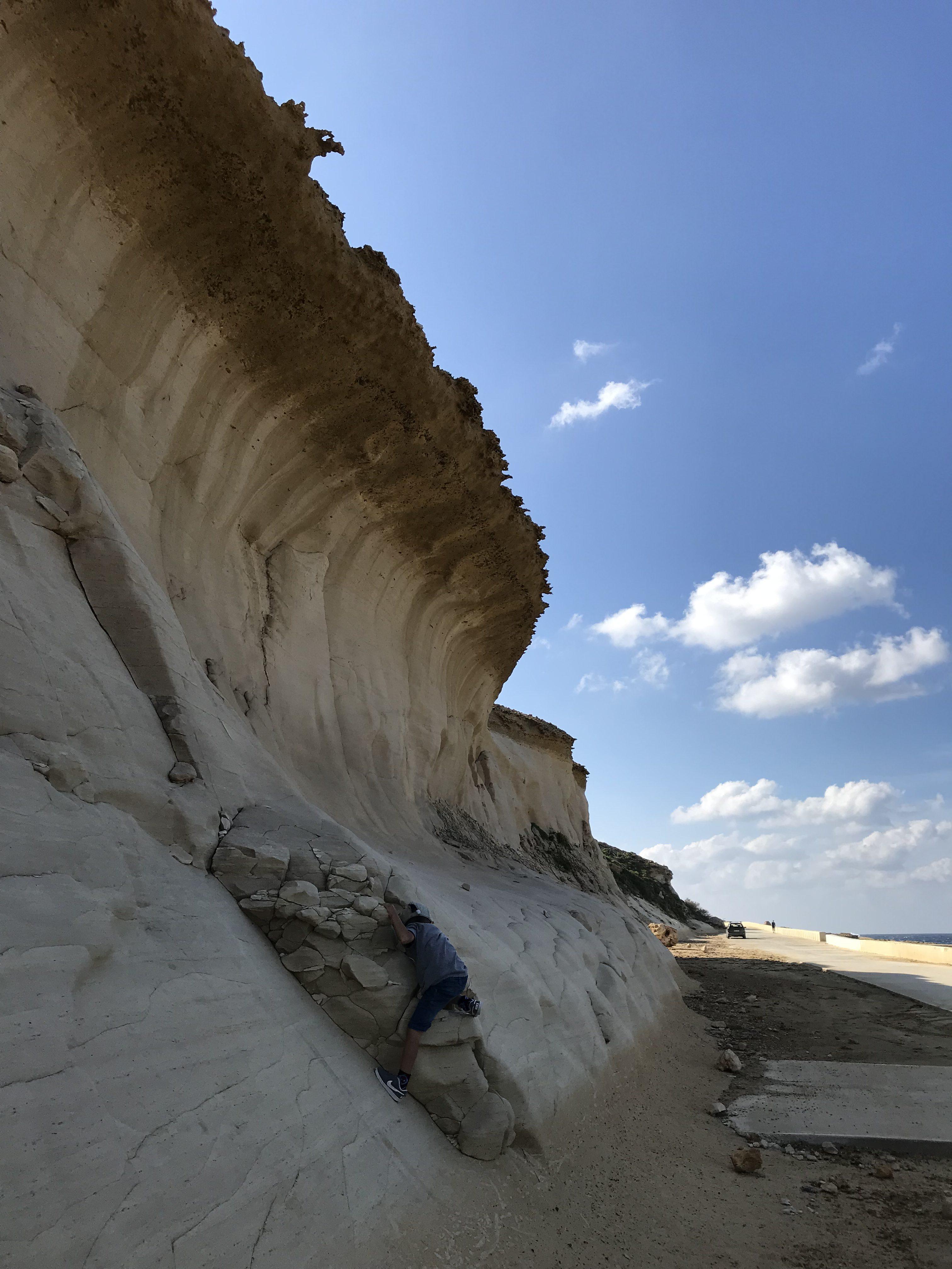 die beeindruckende Küste bei den Salt Pans, Gozo