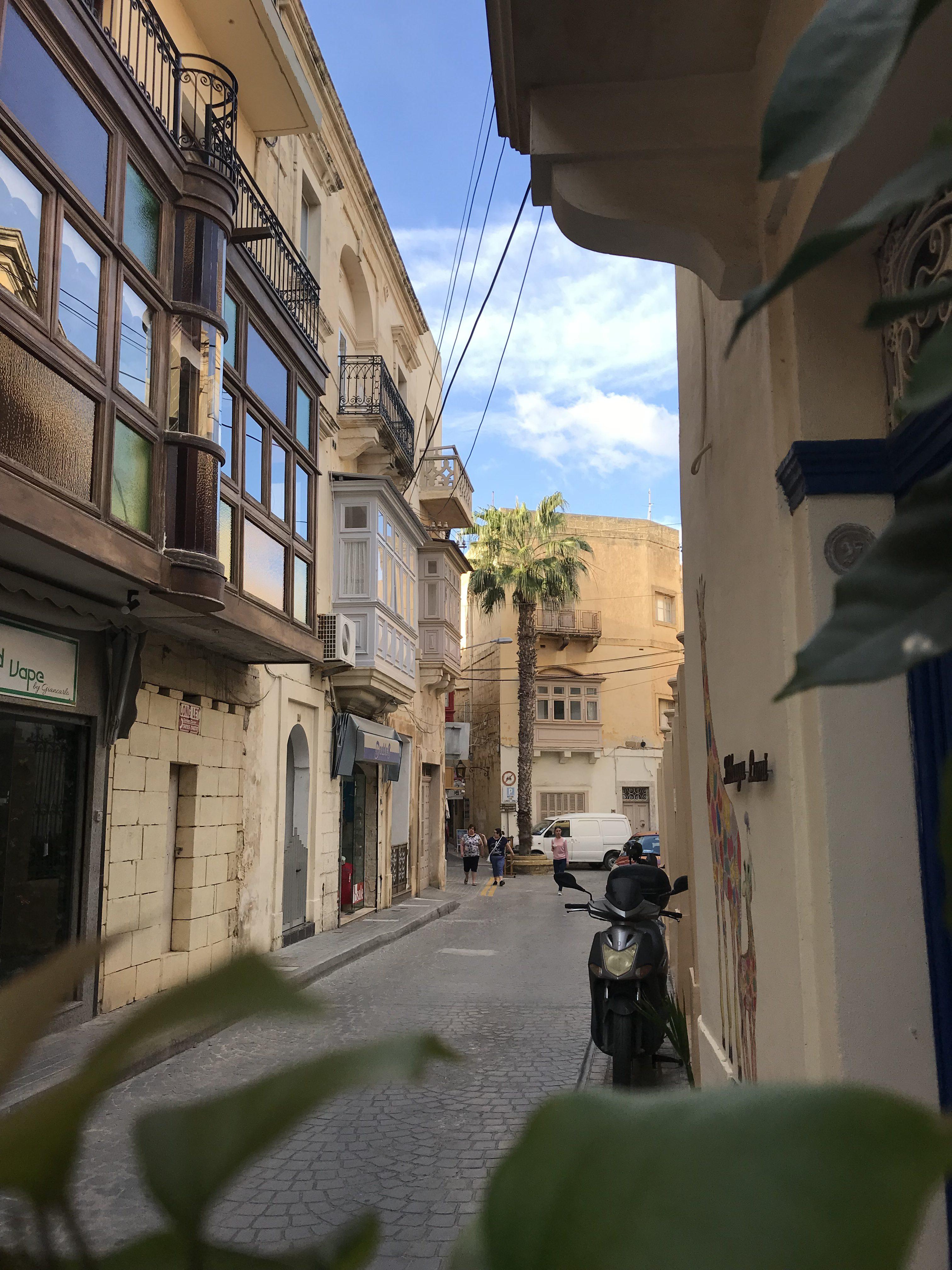 in den Gassen von Victoria, Gozo