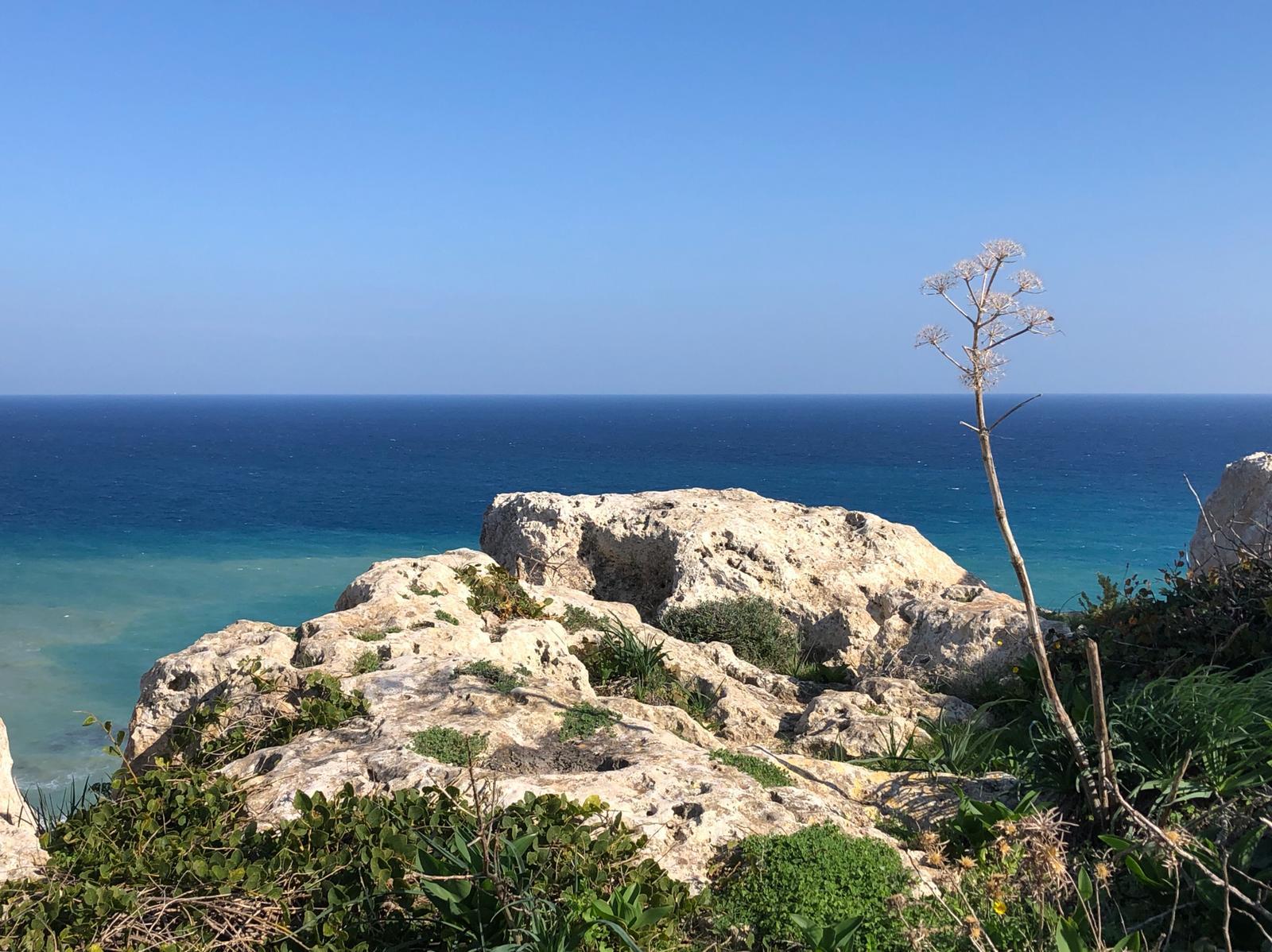 Blick vom Calypso Cave