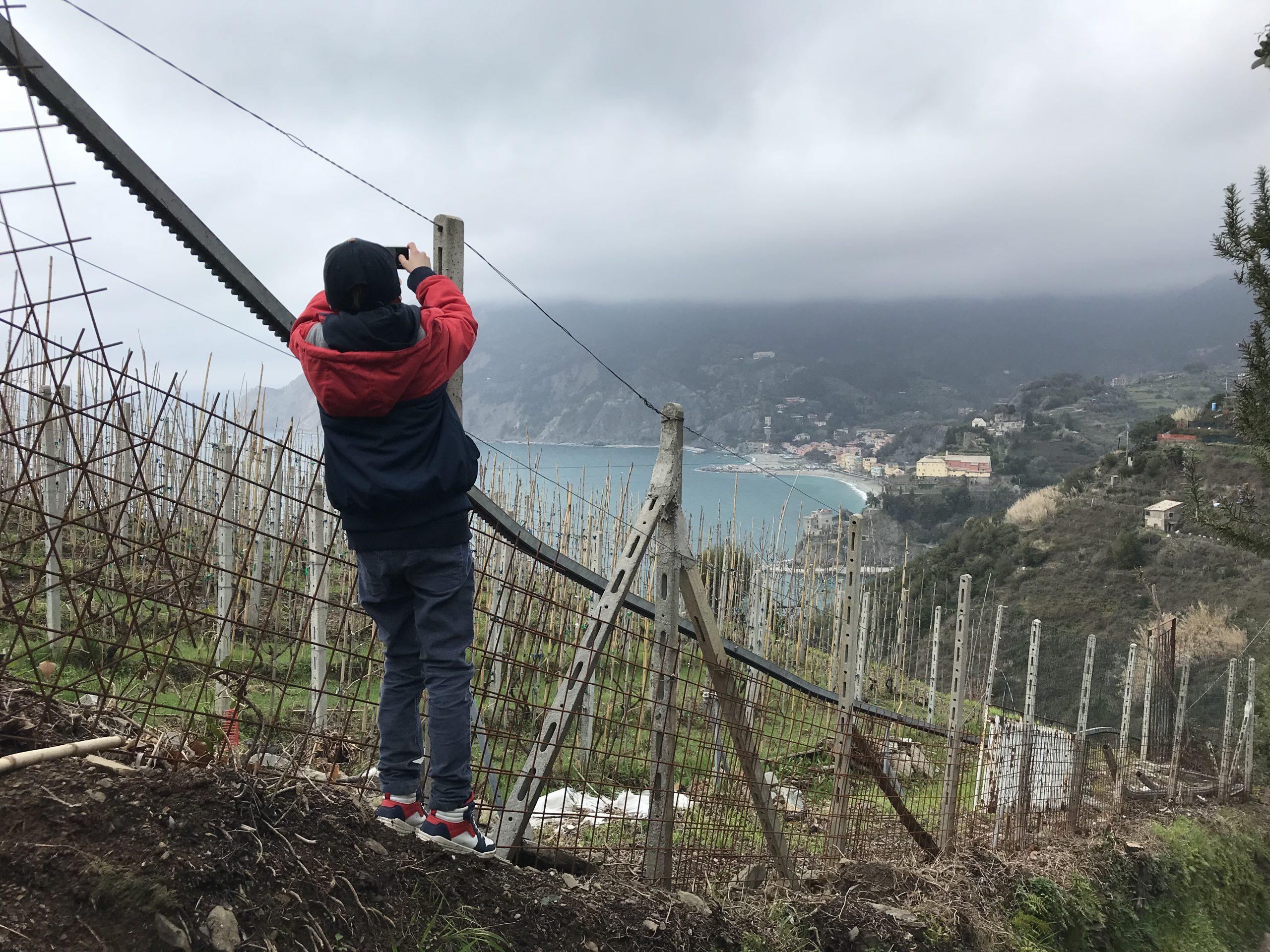 Wandern mit Kindern in der Umgebung von Monterosso al Mare