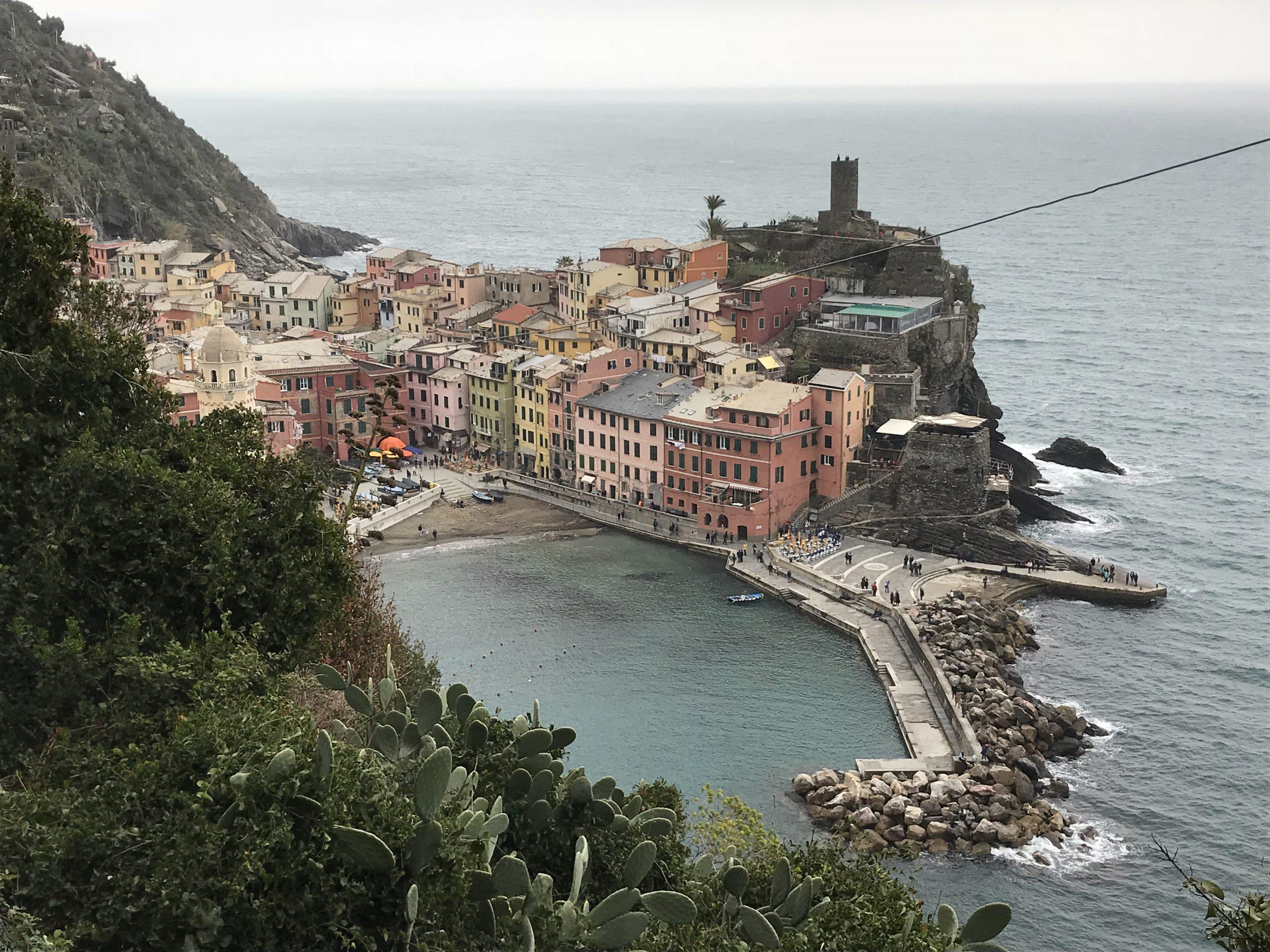 Vernazza ist Teil der Region Cinque Terre