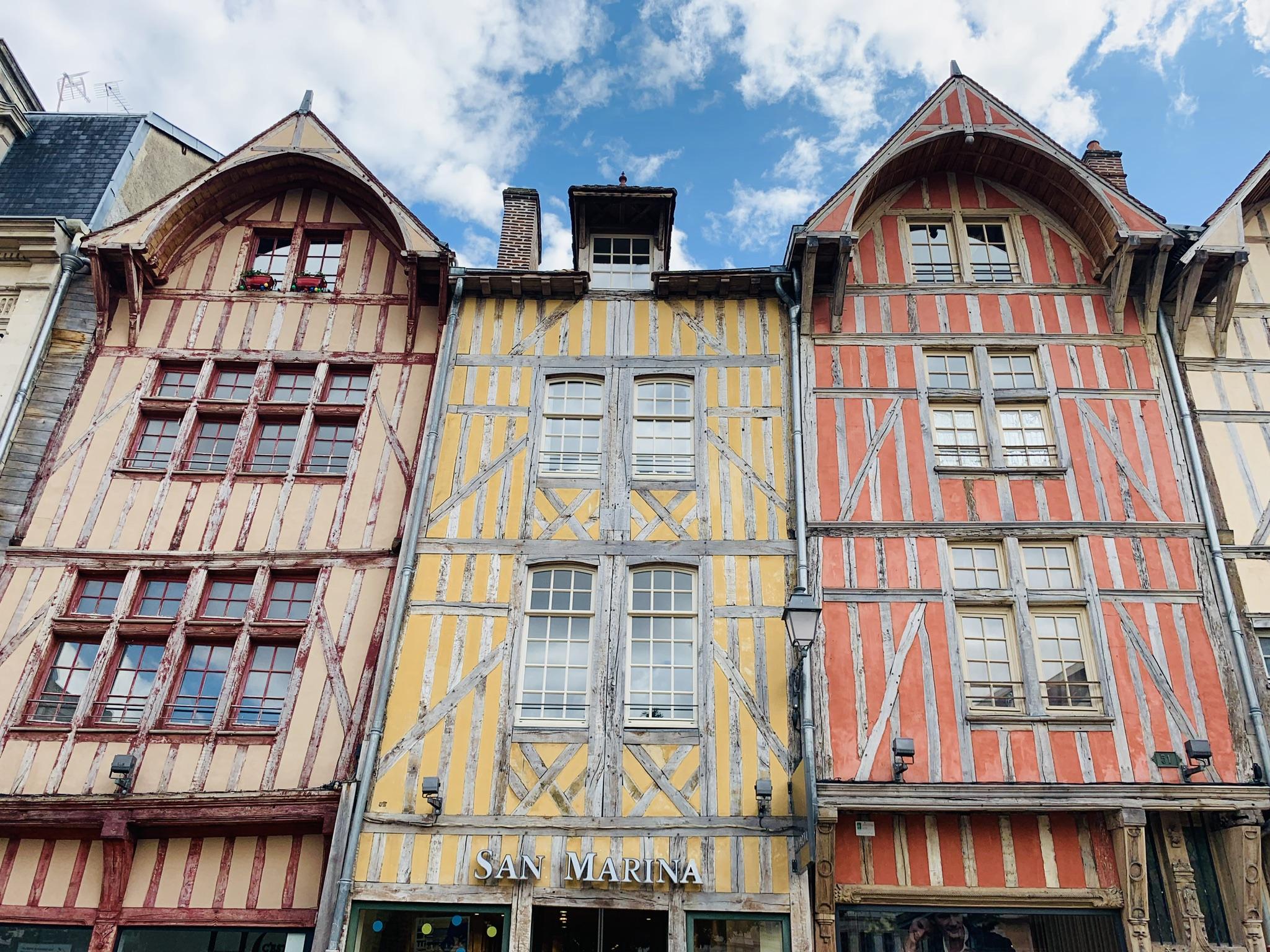 Europa Roadtrip 2019 - Wunderschöne Fachwerkhäuschen in Troyes