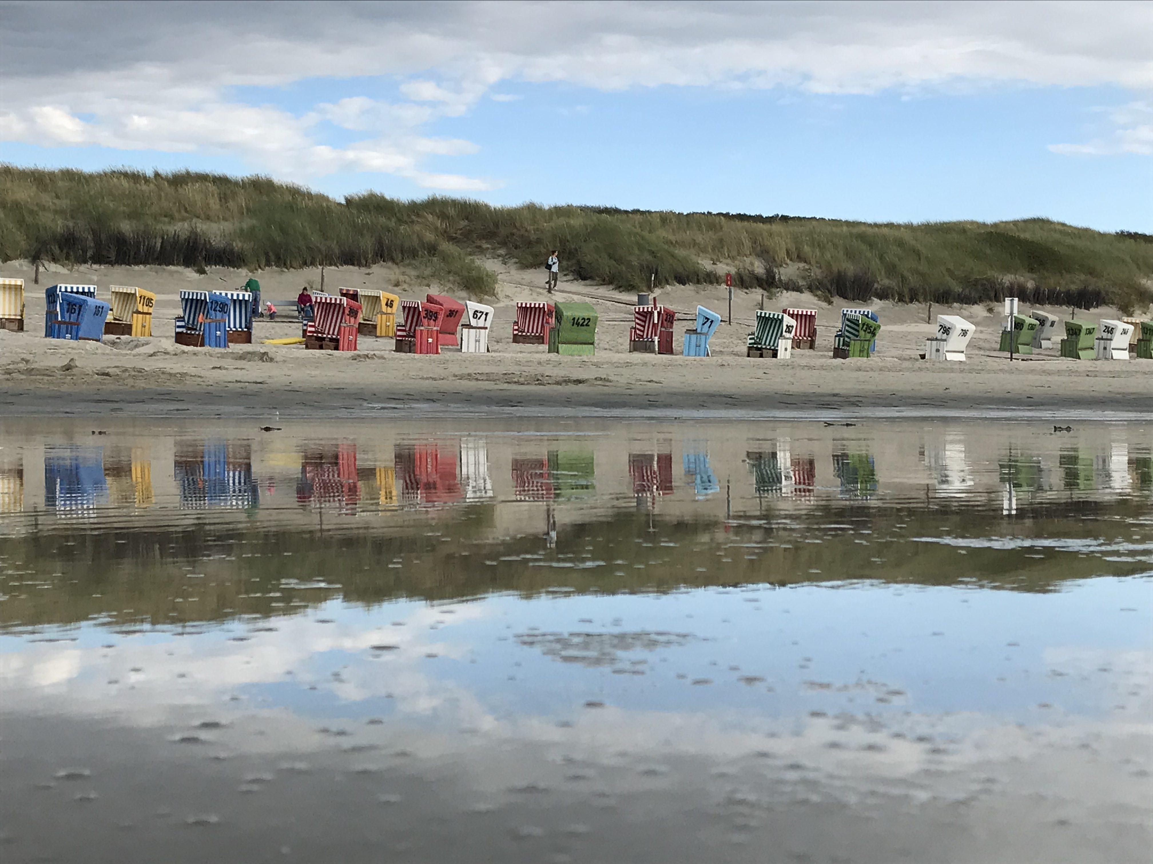 Strandkörbe Langeoog