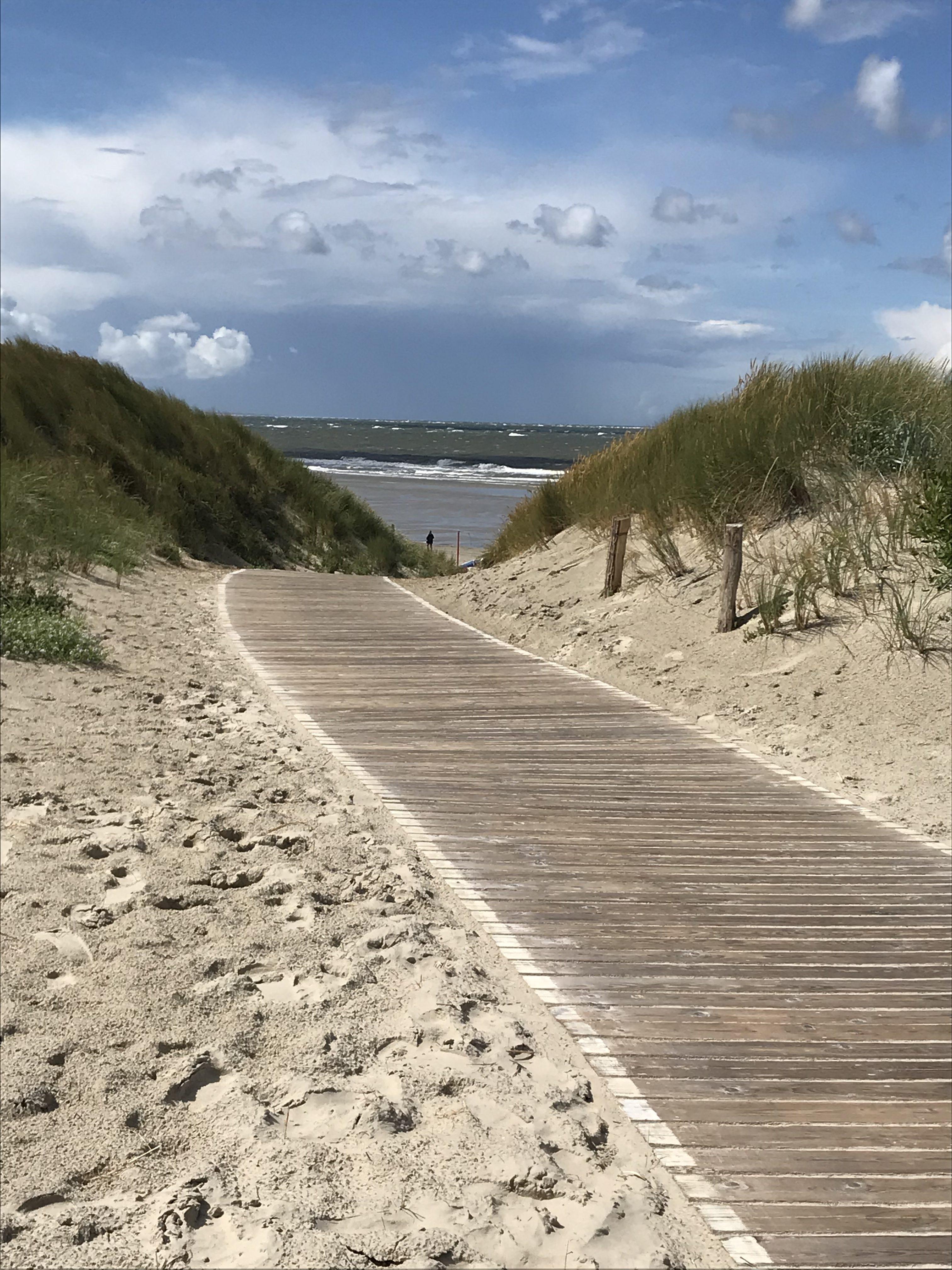 Langeoog Steg zum Strand