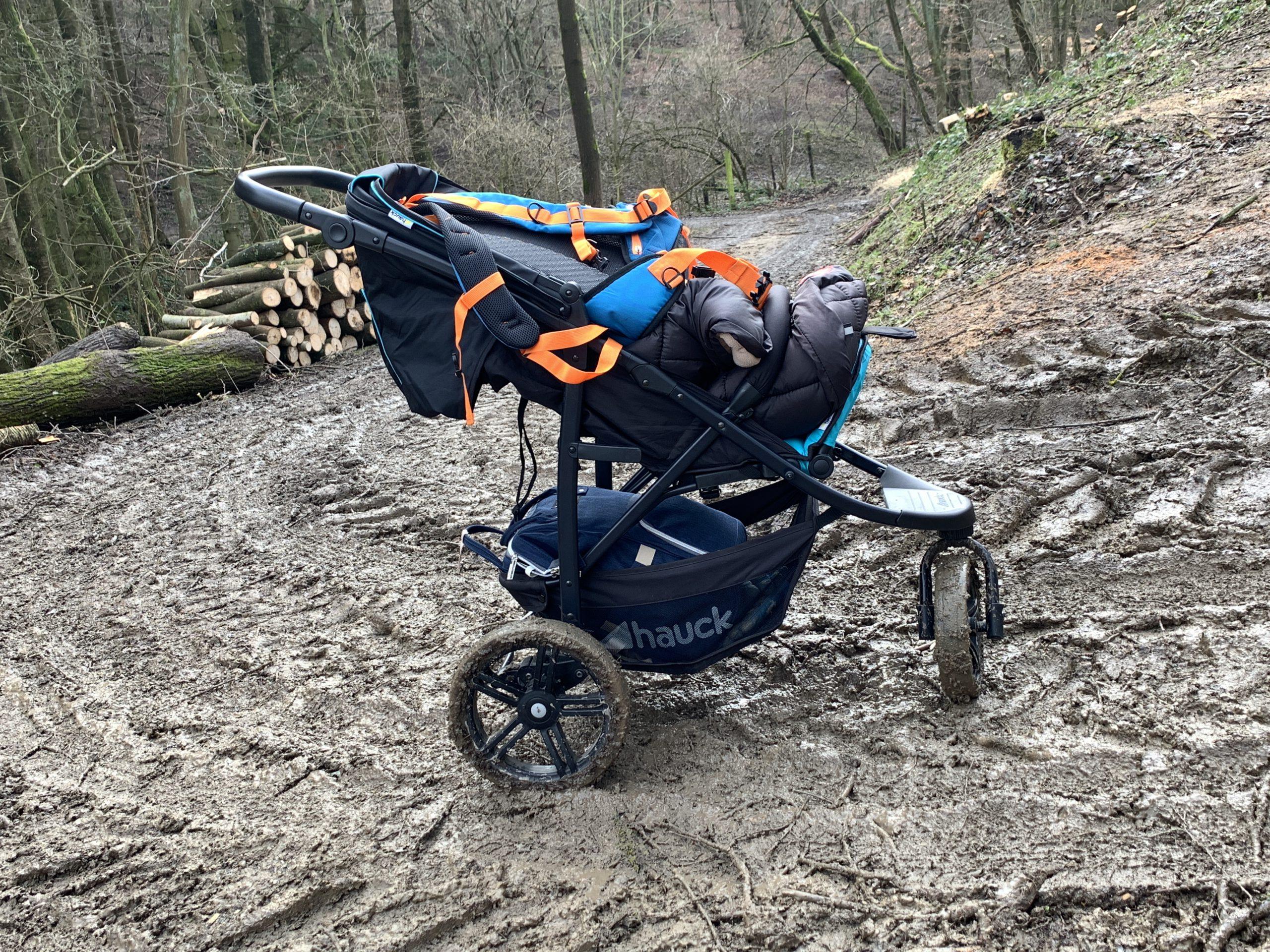 Bei Wind und Wetter! Durch den Wildpark Schmidt mit dem Kinderwagen