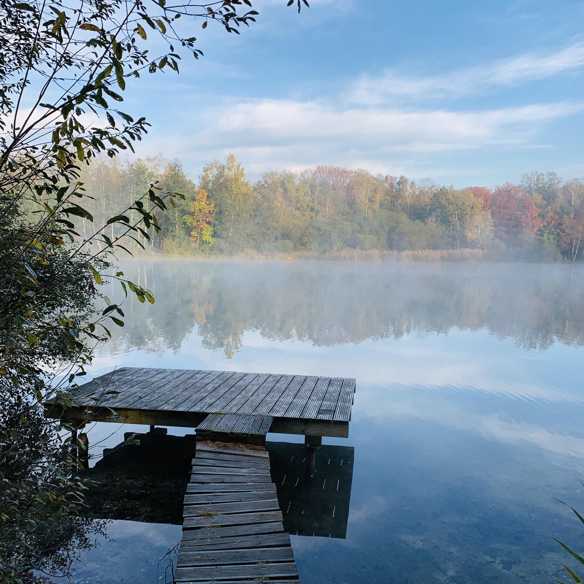 Ruhe und Idylle pur - der Venekotensee im Naturpark Schwalm-Nette