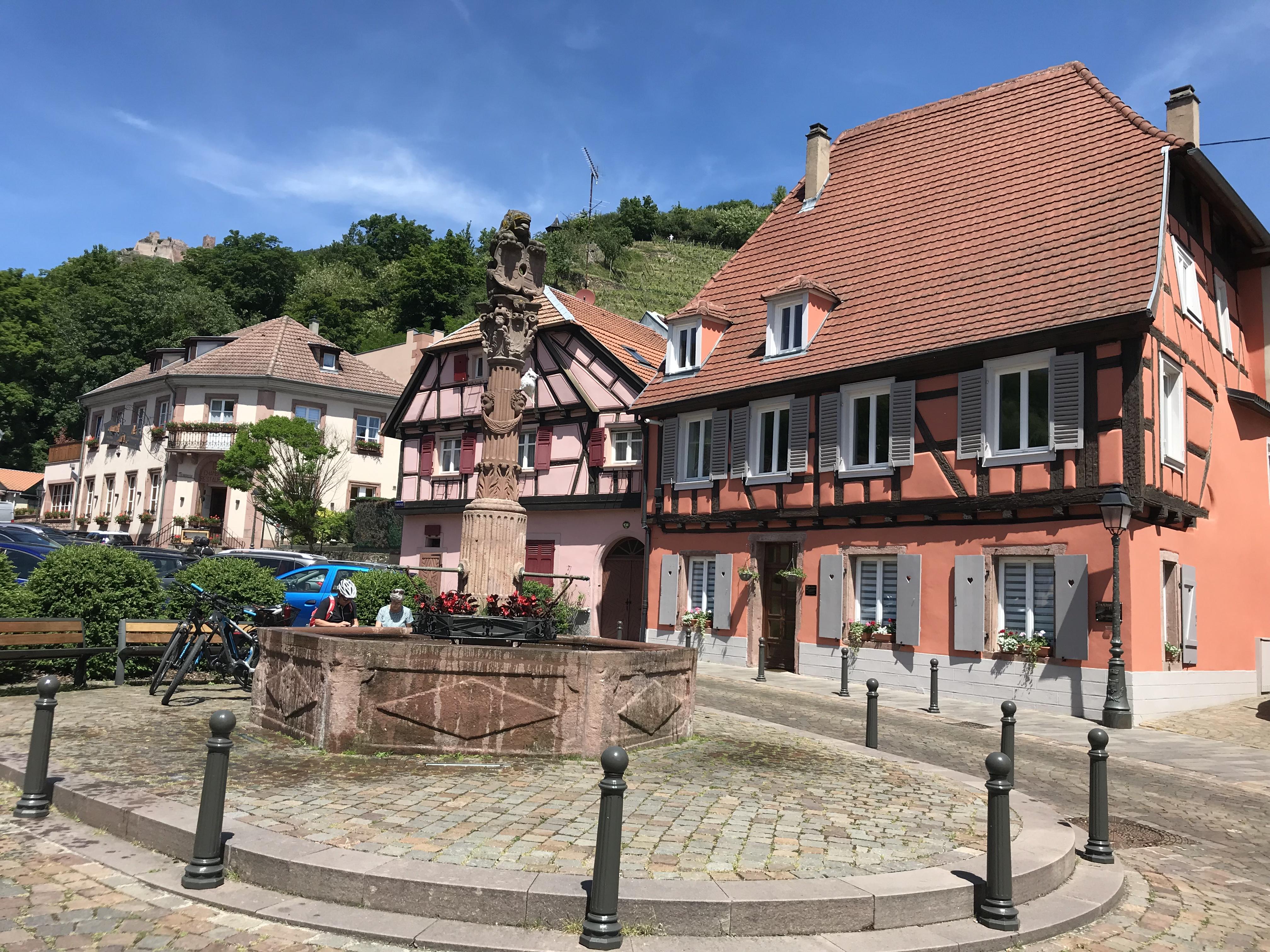 Spaziergang durch Ribeauvillé