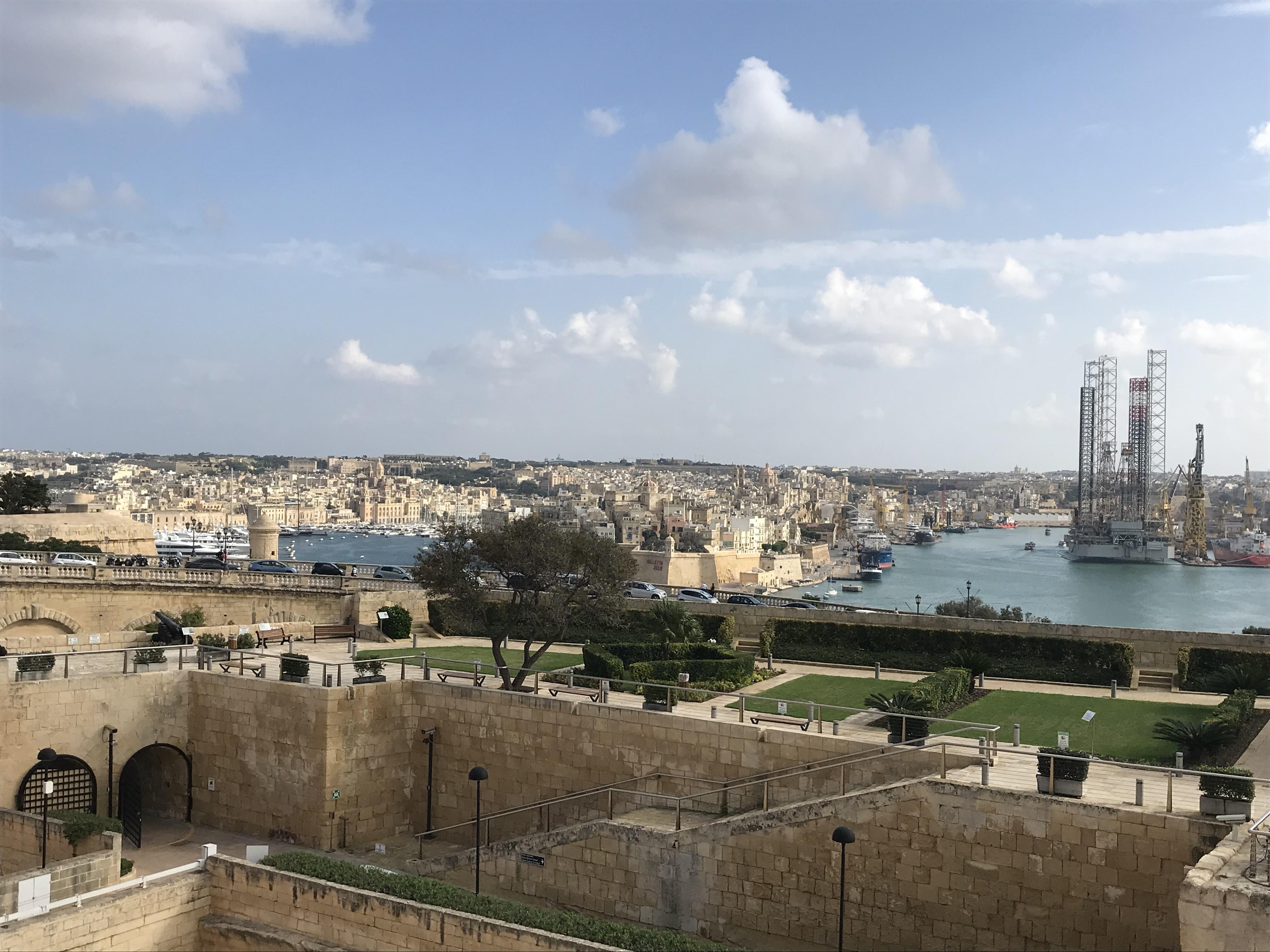 Aussicht von Valletta