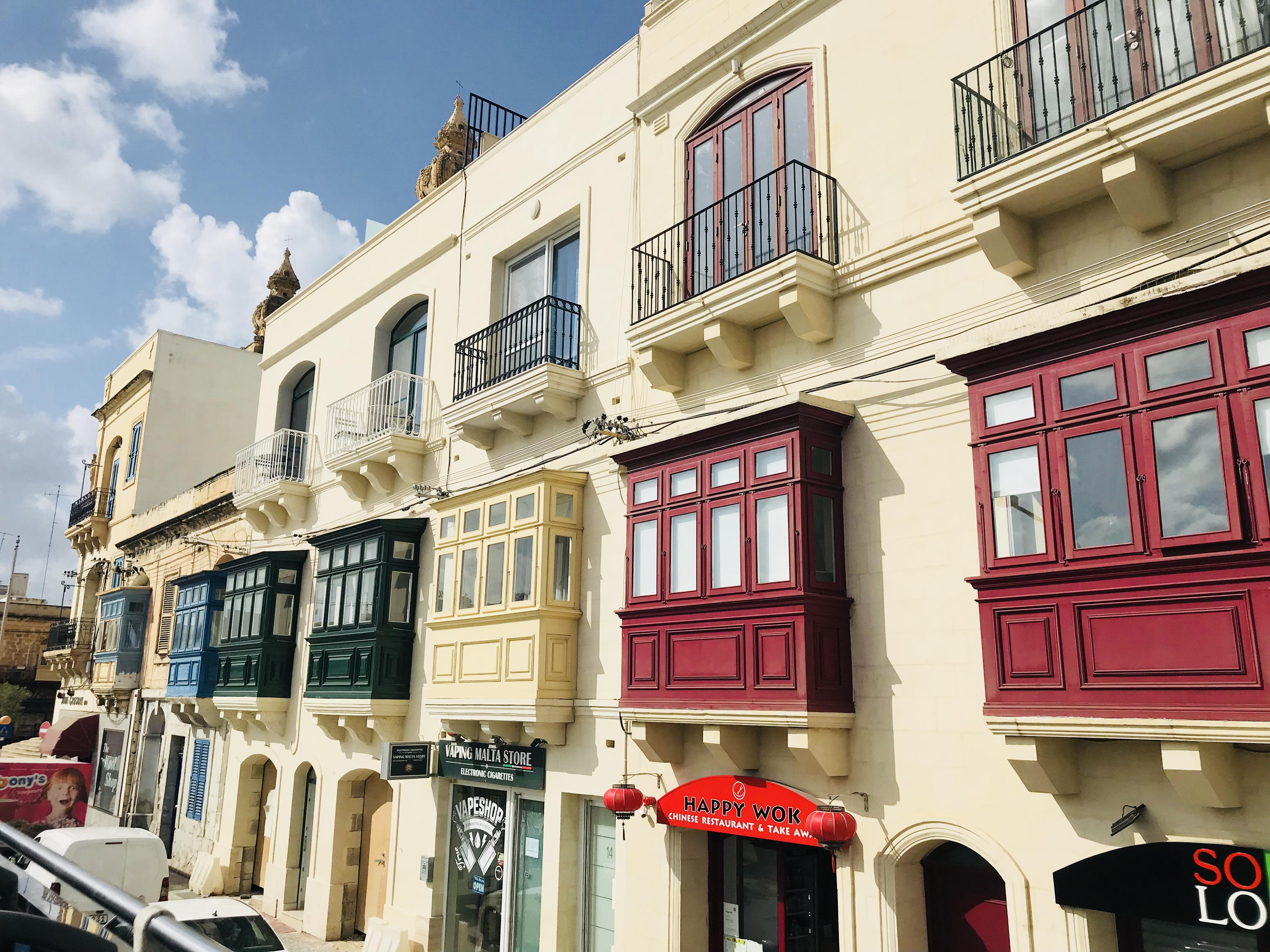 Häuser Vallettas
