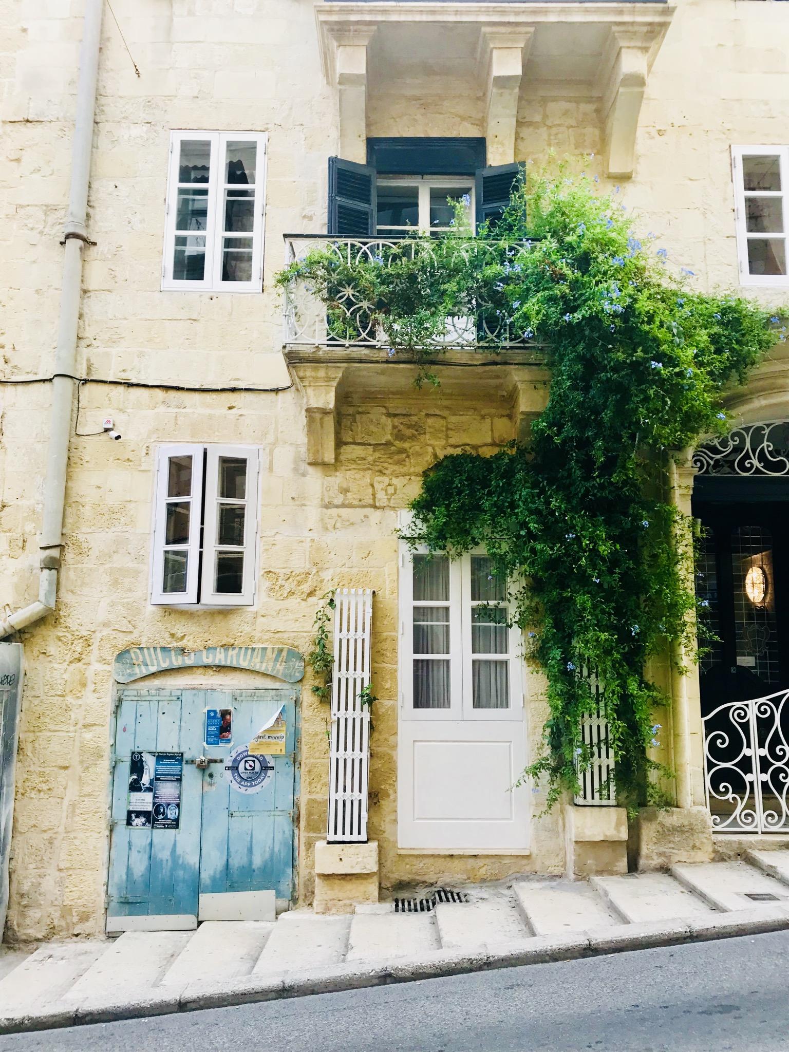 Straßen von Valletta