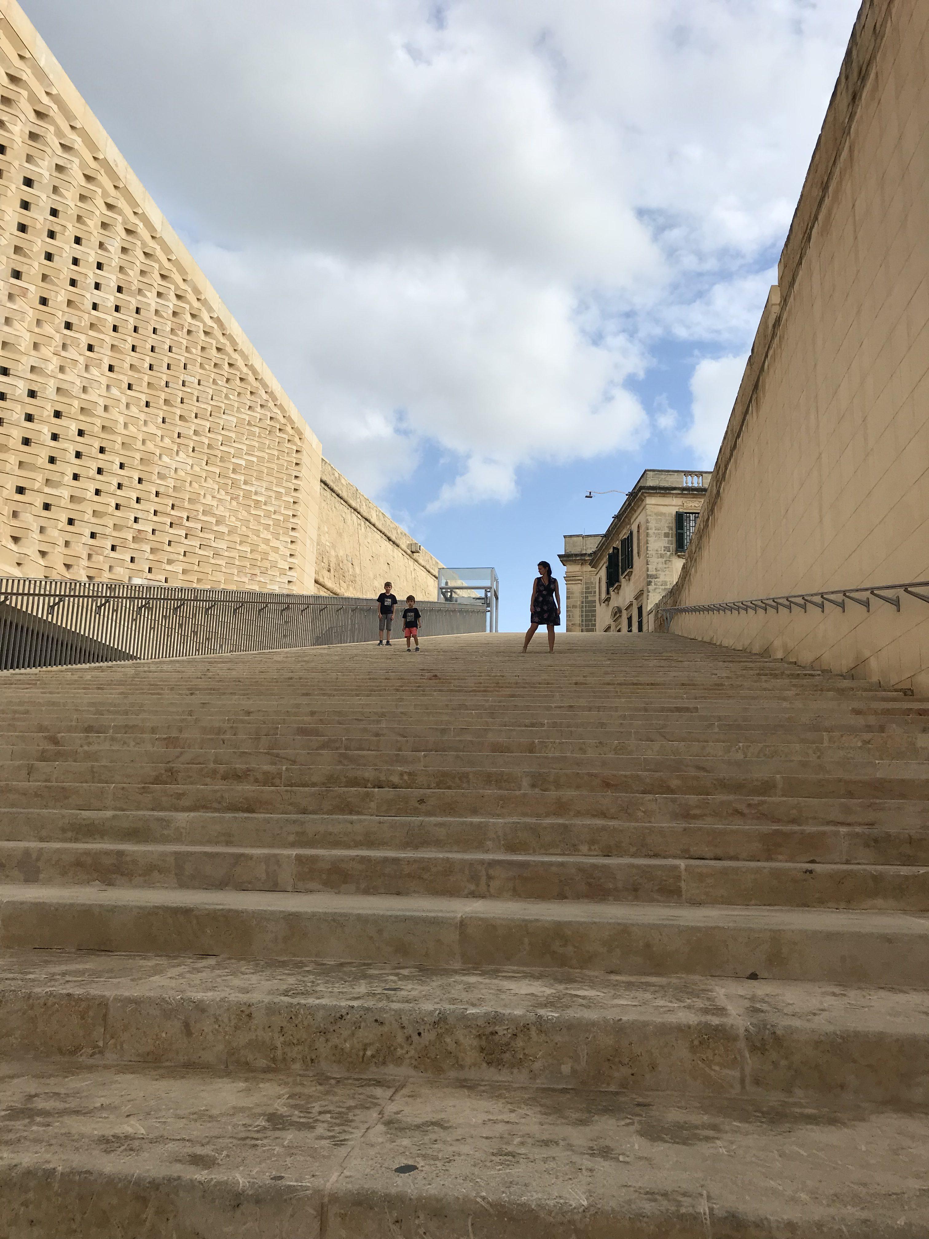 die Treppen Vallettas