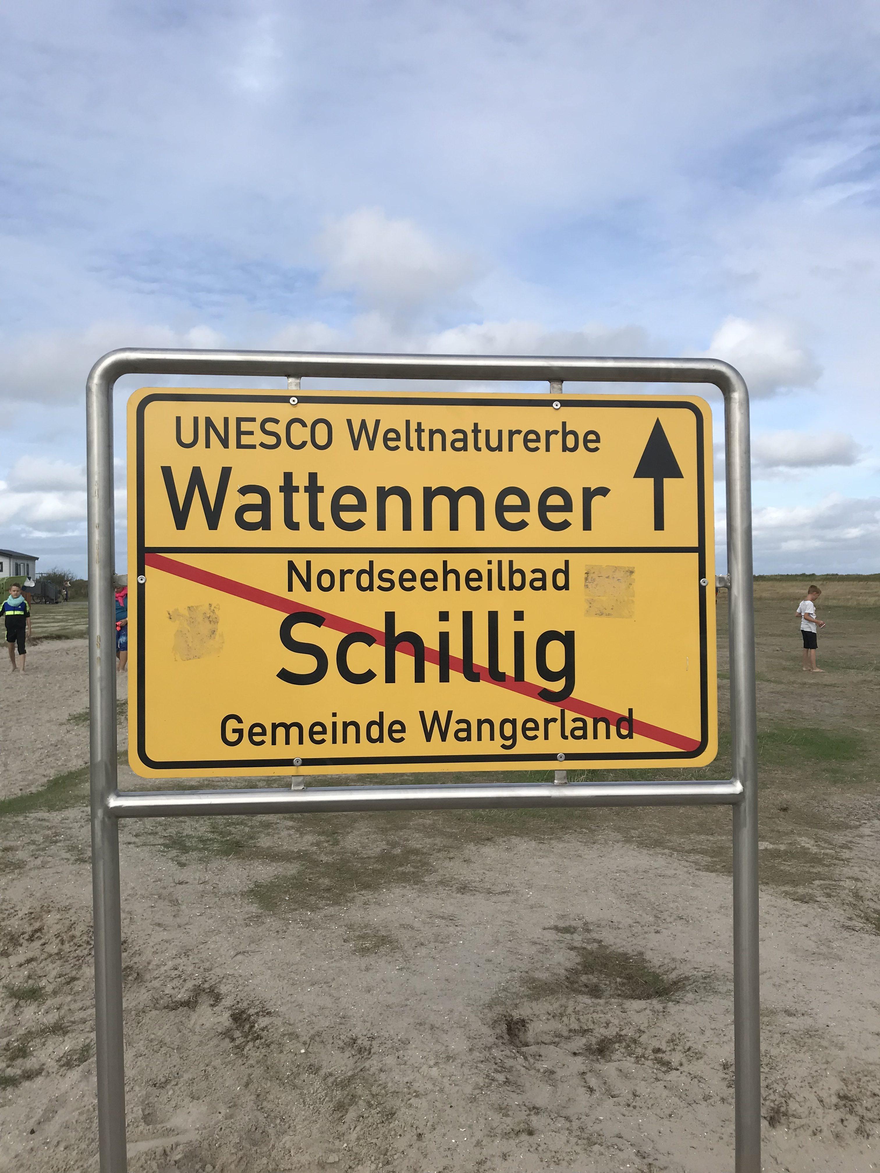 Wattwanderung Schillig Wattenmeer