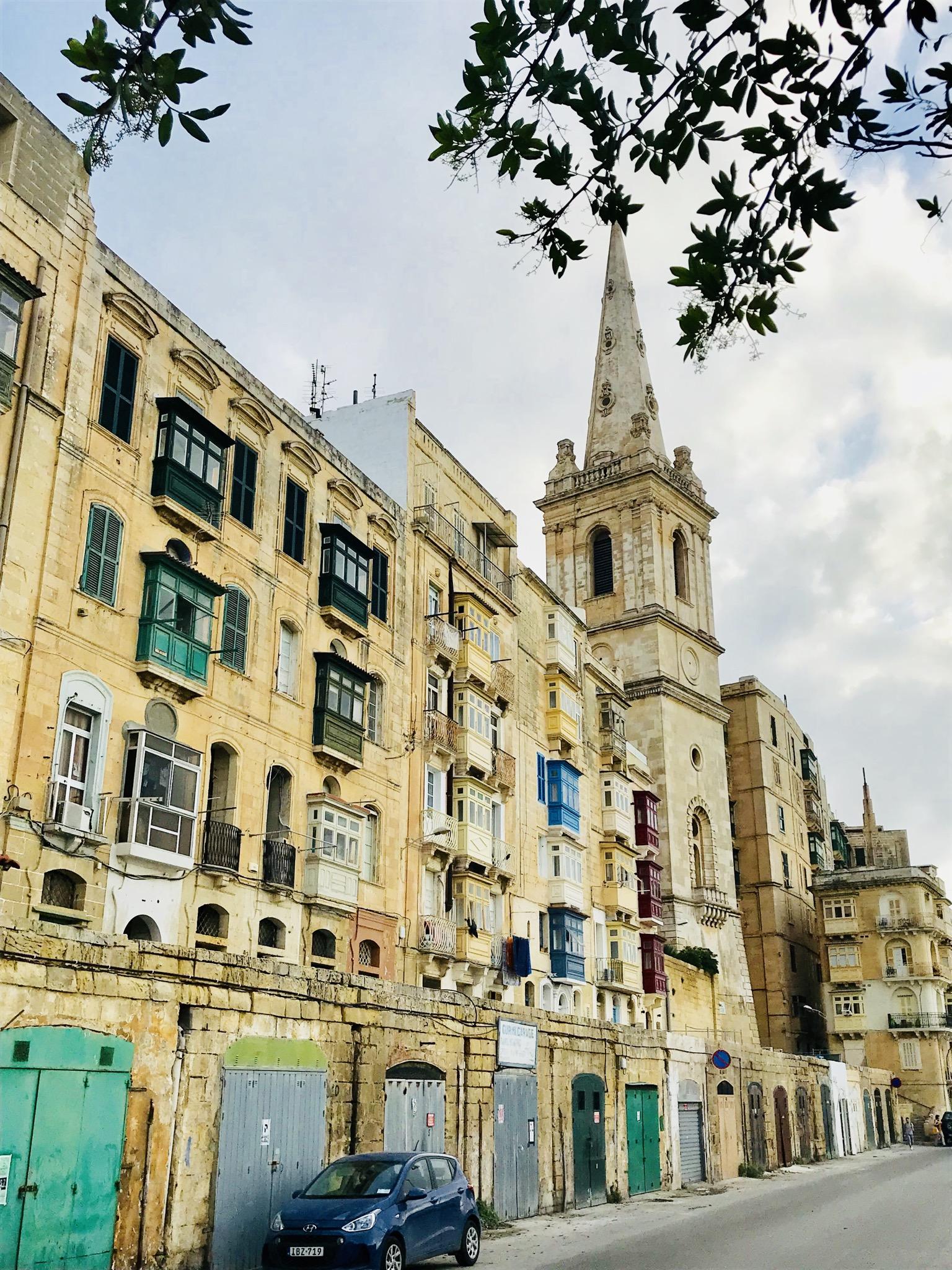 Häuser von Valletta
