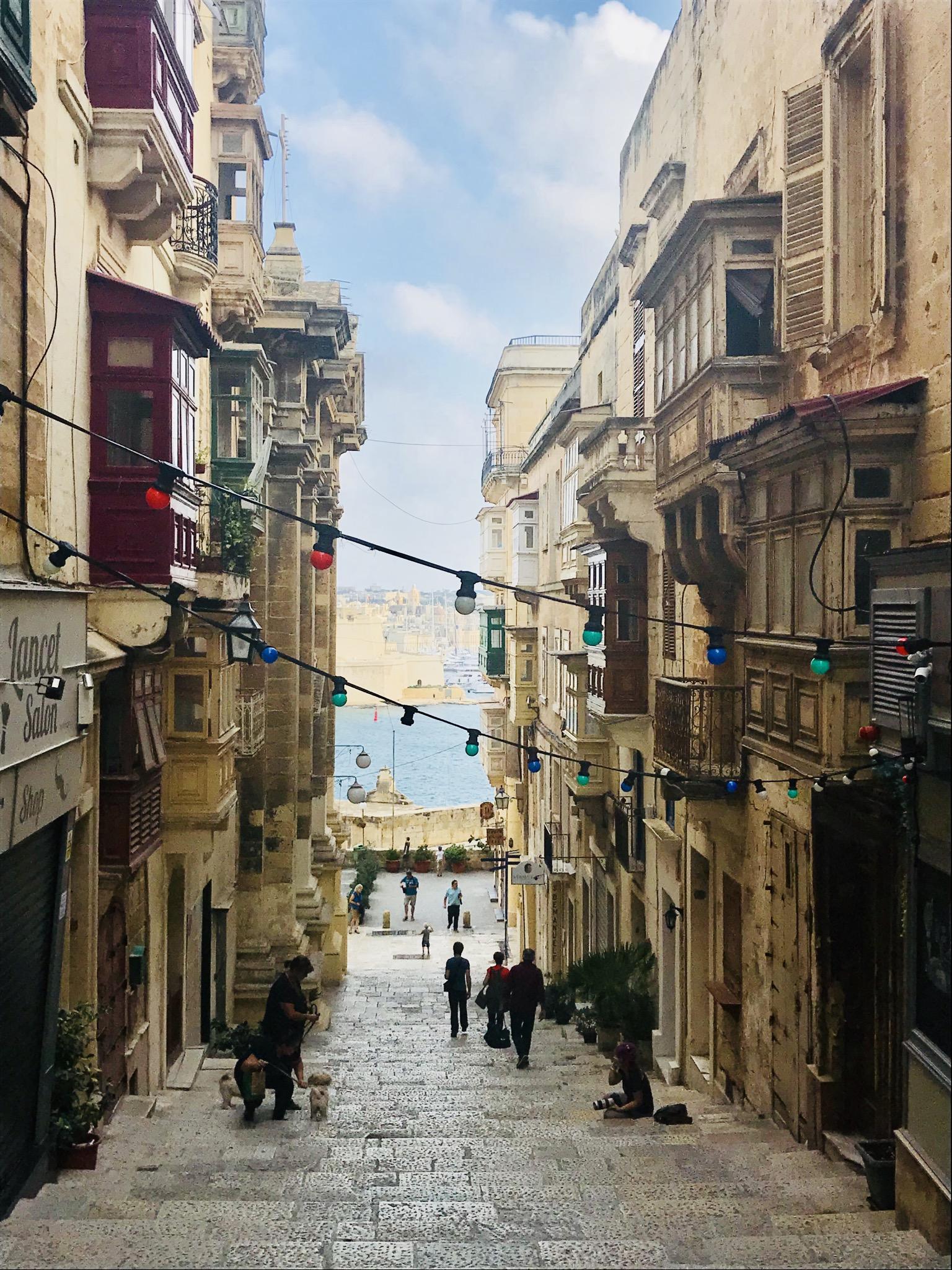 Gassen von Valletta