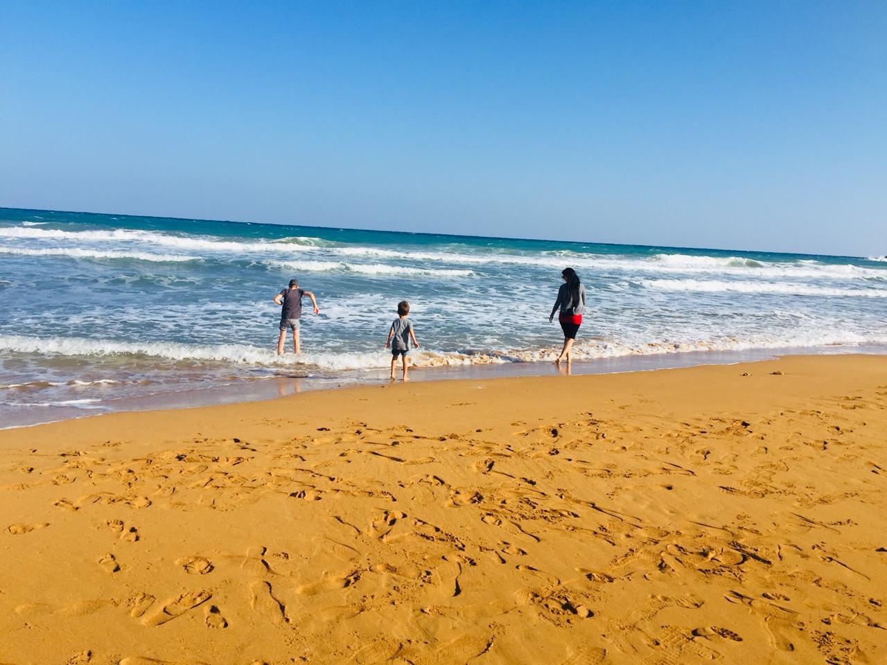 Strand von Ramla Bay