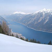 Achensee, Aussicht vom Karwendelberg