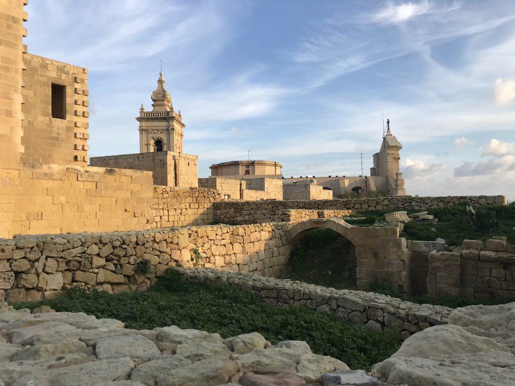 die Zitadelle von Gozo