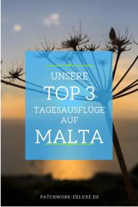 Top3 Tagesausflüge auf Malta