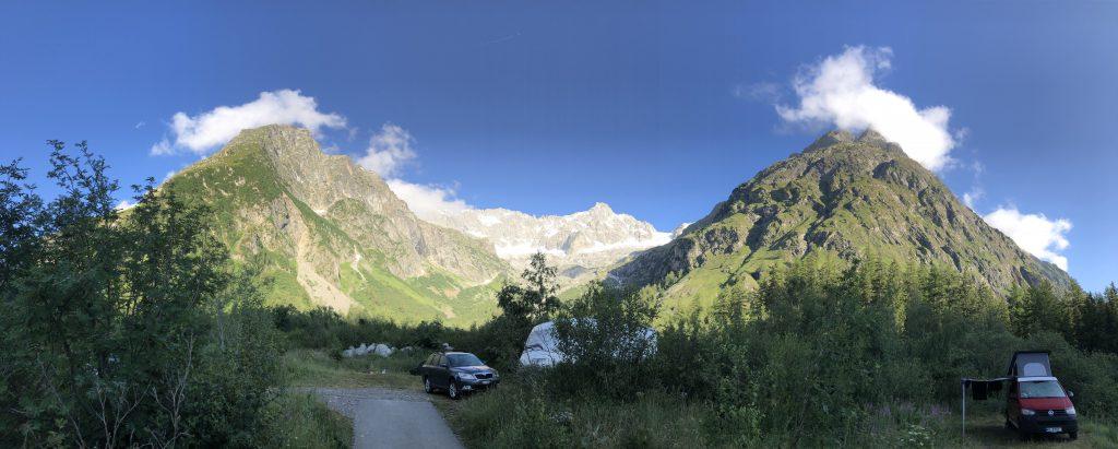 Europa Roadtrip 2019 - Camping in den Schweizer Alpen