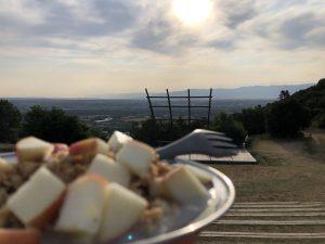 Europa Roadtrip 2019 - Wildcampen und Frühstück mit Aussicht in Frankreich