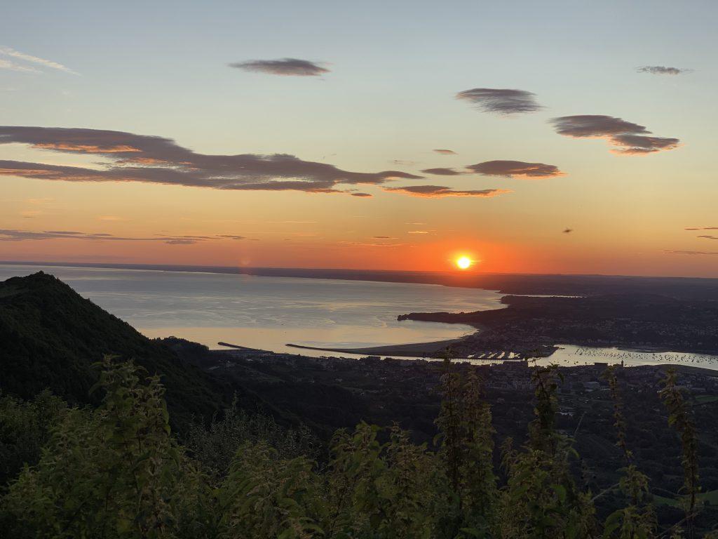 Europa Roadtrip 2019 - Sonnenaufgang im Baskenland