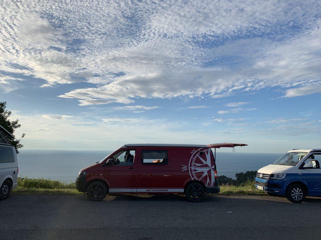 Europa Roadtrip 2019 - Camping Spot Nordspanien