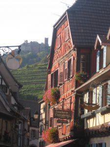 Ribeauvillé - Blick auf Ulrichsburg