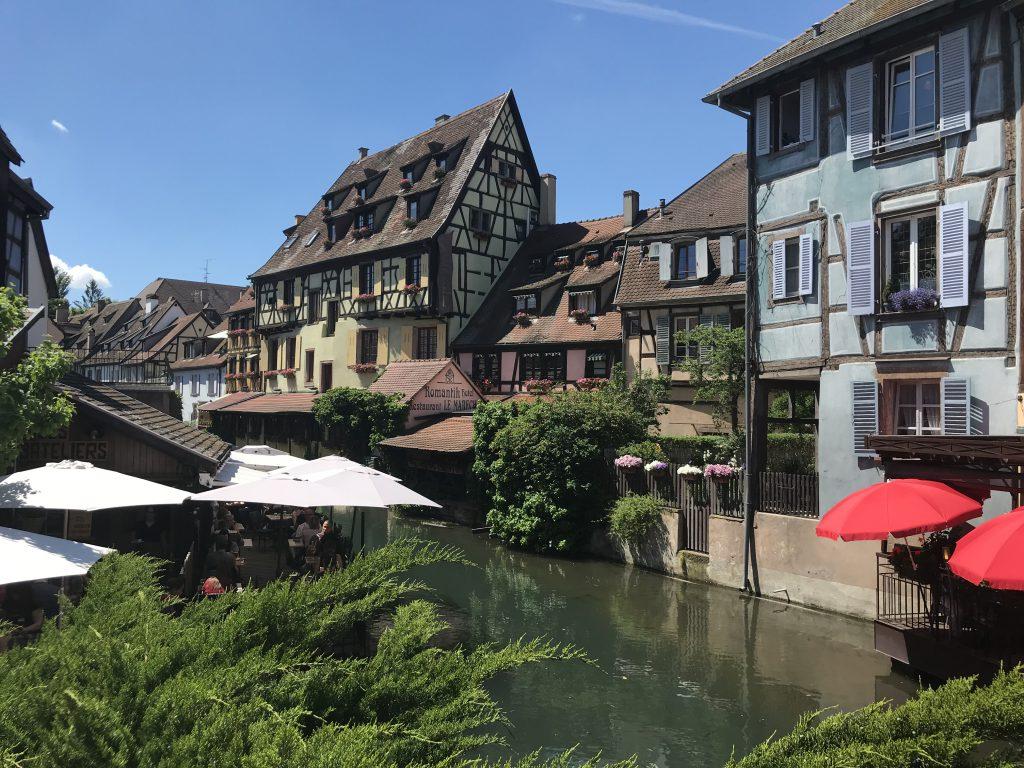 Petite Venise von Colmar, Elsass