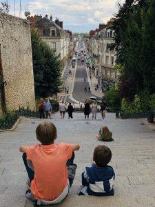Europa Roadtrip 2019 - Ausblick auf Blois