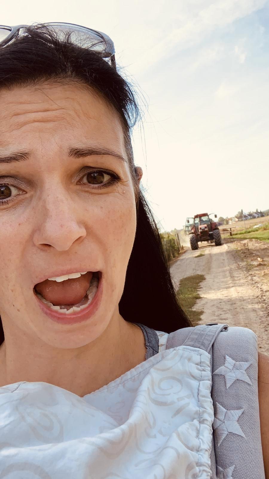 Auf der Suche nach Ruhe - Traktor