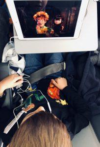Fliegen mit Kindern - Es darf auch mal einfach sein