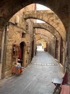 Die Gassen der Altstadt von Rhodos