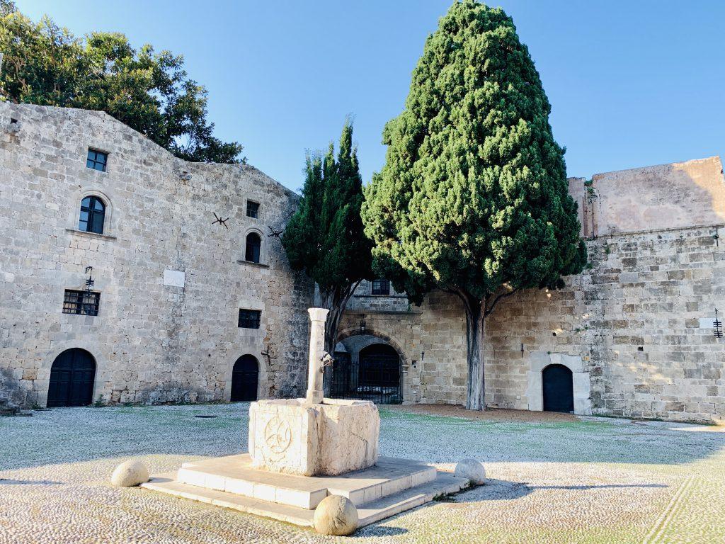 Die historische Altstadt von Rhodos