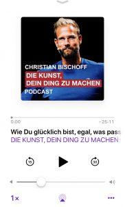 Christian Bischoff - Die Kunst, dein Ding tun machen