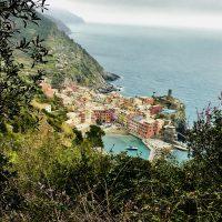 Das bunte Dörfchen Vernazza, Cinque Terre, Italien