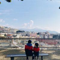 Mit den Kindern durch Italien, Genua
