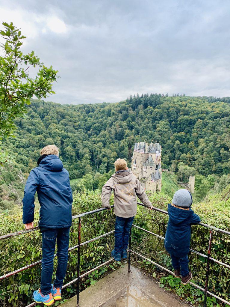 Familienurlaub in der Eifel, Burg Eltz
