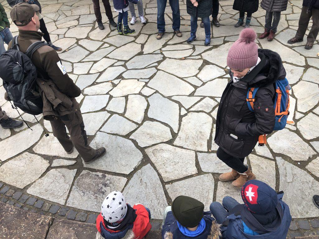 Start unserer Rangertour mit Kindern durch den Nationalpark Eifel