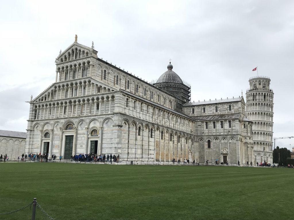 Kathedrale und schiefe Turm von Pisa