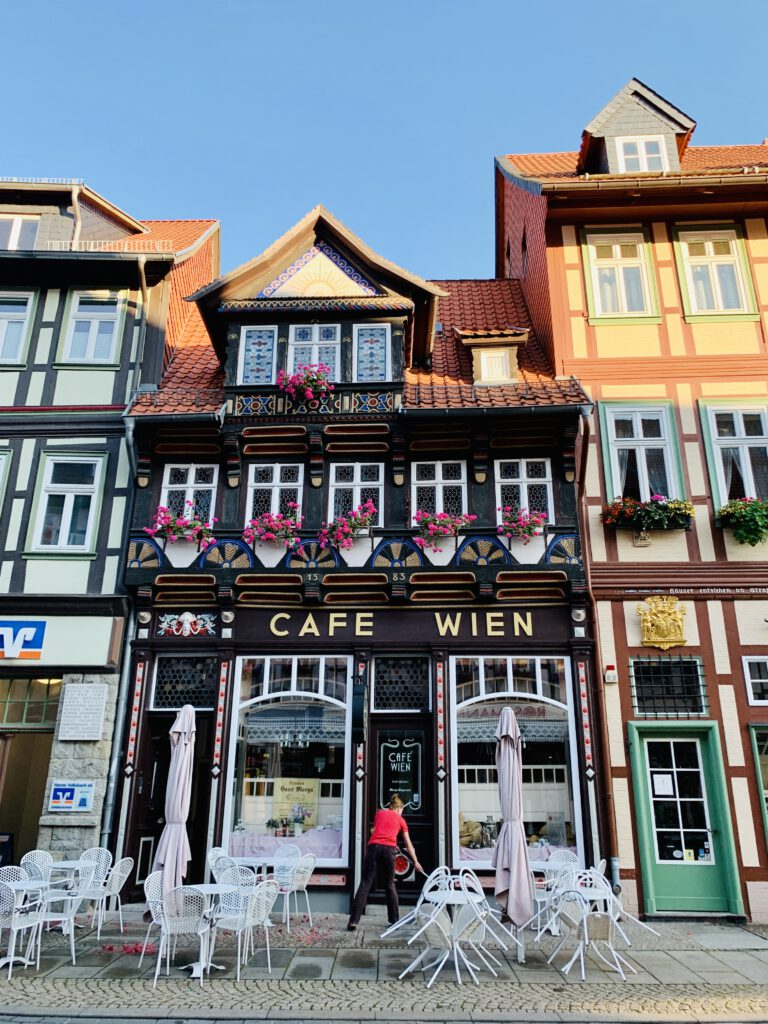 Wunderschöne Altstadt in Wernigerode