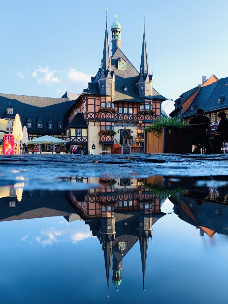 Familienurlaub im Harz - Rathaus Wernigerode